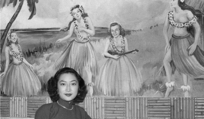 Посетительница Авиаклуба в 1949 году. Источник: Isabel Chao scmp.com