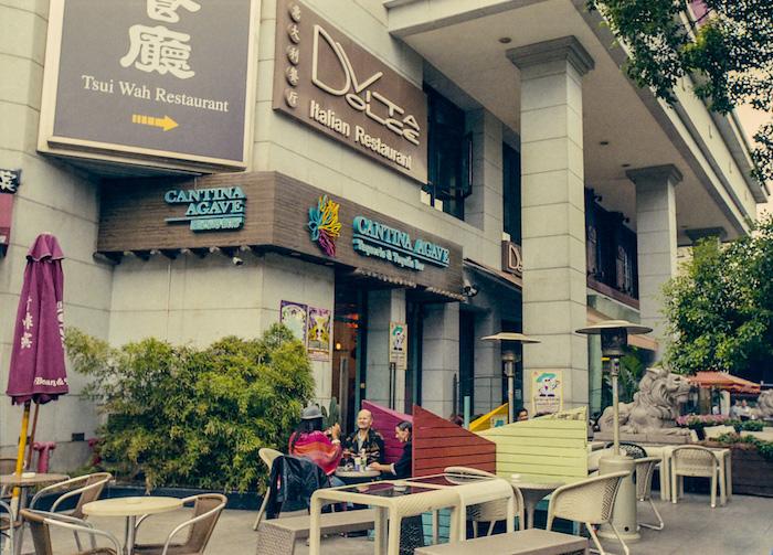 """Рестораны на месте """"Аркадии"""" в 2013 году. Источник: Катя Князева"""