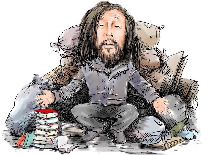 Странствующих мастер Шэнь - идеал современной китайской молодежи. Источник: 新浪