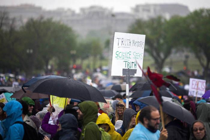 Марш за науку. Источник: Getty Images