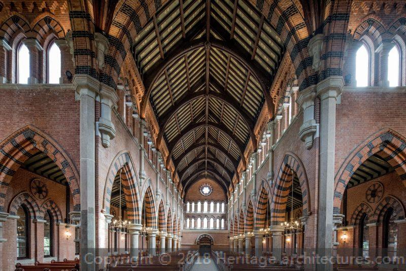 Внутреннее убранство в наши дни. Источник: heritage-architectures.com