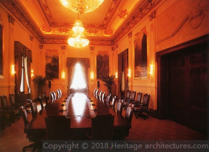 Зал для совещаний. Источник: heritage-architestures.com