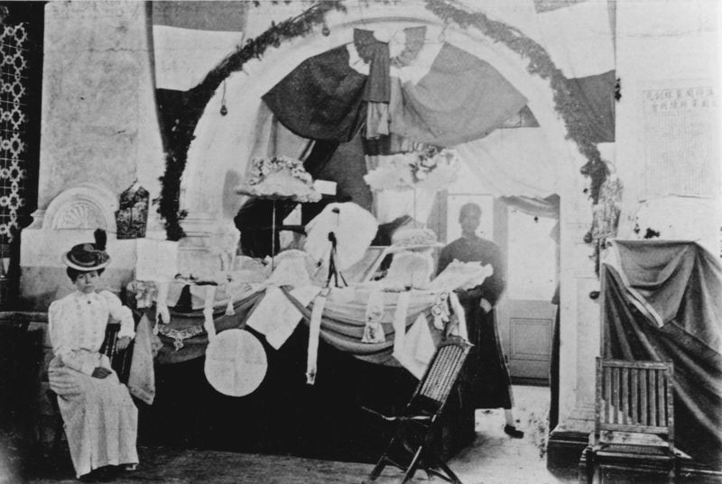Русские и французские товары на международной выставке в 1913 году. Источник: Shanghai Library Archive