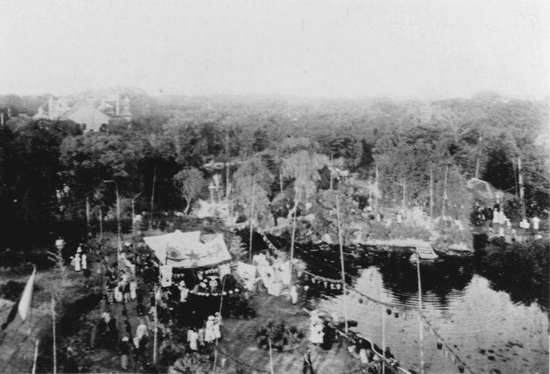 Территория парка. Источник: Shanghai Library Archive
