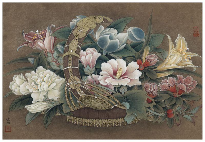 Li Xiaoming gongbi art
