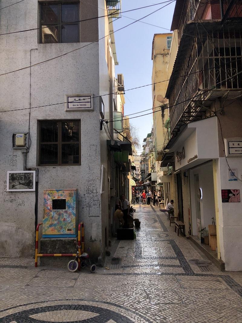 Rua dos Envanarios (关门正街)