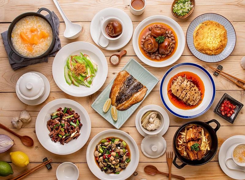Разнообразие тайваньской еды.