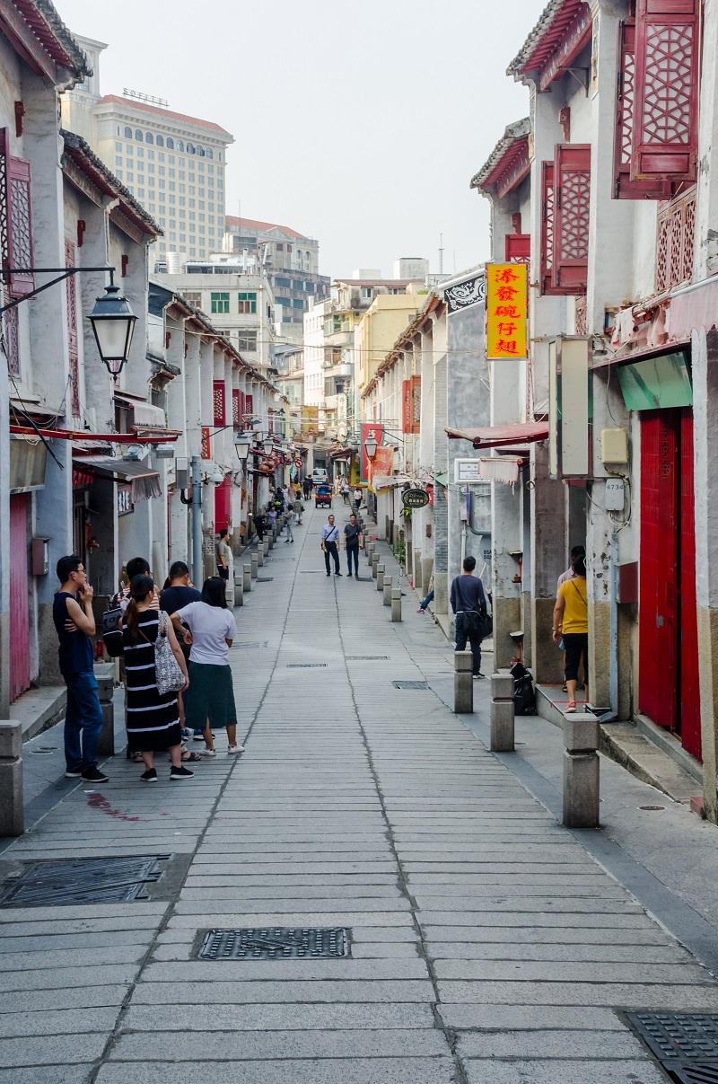 Современный вид Улицы счастья
