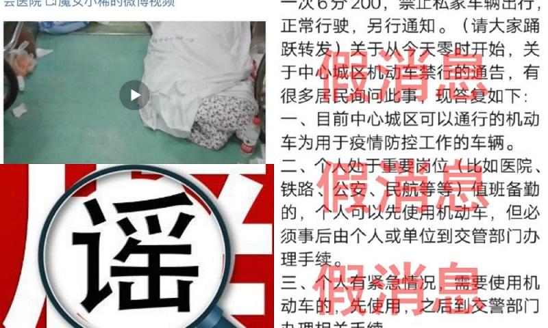 谣 yáo - слухи, фейк - слово вошедшее в тренды китайских соцсетей. Источник: What's on Weibo