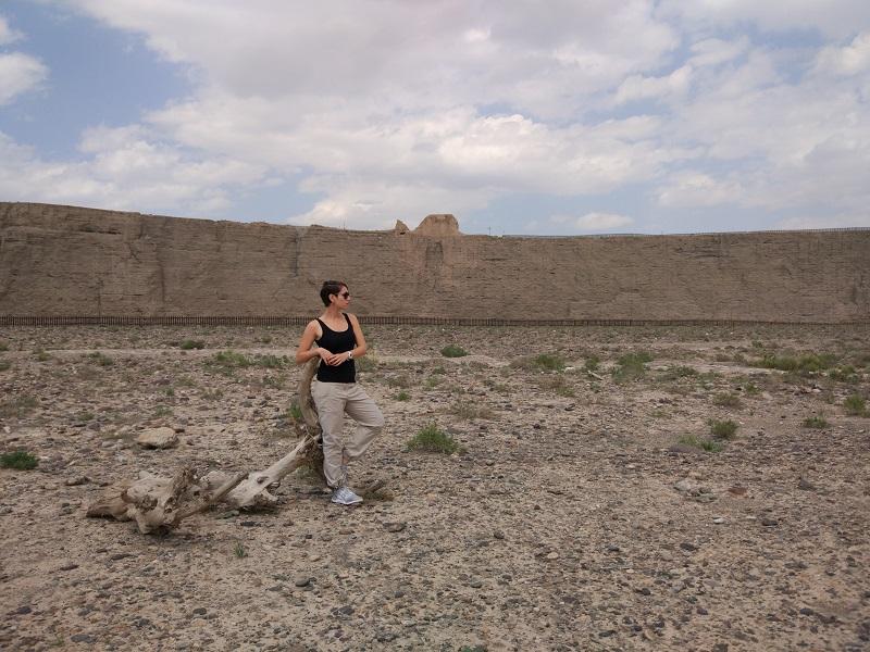 Стены природного каньона оказались более неприступными, чем те, которые возводили люди. На краю каньона - сигнальная башня
